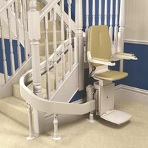 Indoor chair stair lift / outdoor / power-operated / rotating