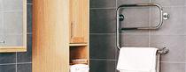 Electric towel radiator / steel / contemporary / tube