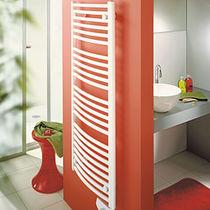 Electric towel radiator / thermal fluid / metal / chrome