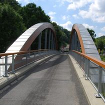Arch bridge / steel / wooden / concrete