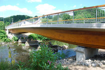 Beam bridge / wooden / concrete / precast