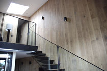 Wood wall cladding / interior / sound-absorbing