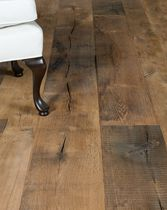 Solid parquet flooring / nailed / oak / aged