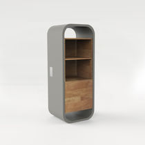 Contemporary mini bar cabinet / for hotel rooms