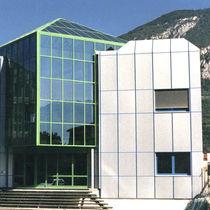 Stone ventilated facade / aluminum
