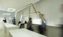 Pendant lamp / contemporary / bronze / LED