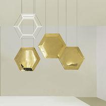 Pendant lamp / contemporary / bronze / steel