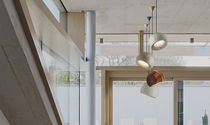 Pendant lamp / contemporary / marble / LED