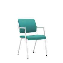 Conference chair / contemporary / fabric / commercial