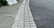 Paved drainage channel / street / high-performance concrete / sloped