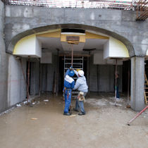 Circular formwork / single-sided / expanded polystyrene