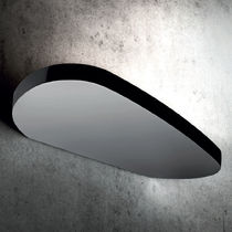 Contemporary wall light / cast aluminum / chromed metal / LED