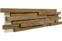 Wooden wall cladding / interior / 3D / decorative