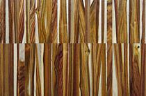 Solid wood flooring / glued / industrial / strip