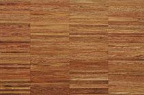 Solid wood flooring / glued / jatoba / industrial