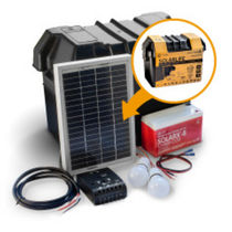 PV solar kit / portable / for stand-alone systems