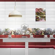 Wall tile / ceramic / nature pattern / high-gloss