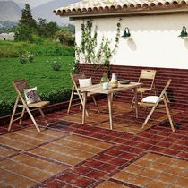Outdoor tile / wall / for floors / ceramic