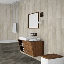 Wall tile / for floors / ceramic / smooth