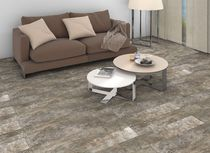 Parquet look tile / for floors / ceramic / smooth