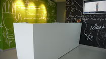 Corian® reception desk