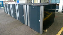 Steel cycle shelter / secure