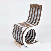 Original design chair / wenge / walnut / cardboard