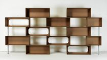 Original design shelf / wooden / cardboard