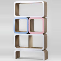 Modular shelf / original design / cardboard