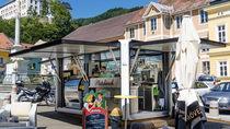 Catering kiosk / steel / solar-powered