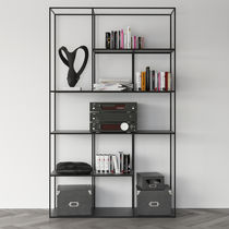 Contemporary shelf / powder-coated steel