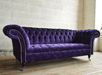 Chesterfield sofa / velvet / 2-seater / 3-seater
