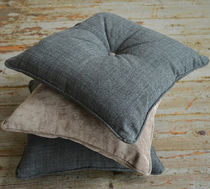Sofa cushion / for chairs / square / wool