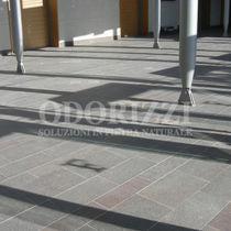 Outdoor tile / floor / porphyry / brushed