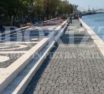 Basalt paver / drive-over / pedestrian / for public spaces