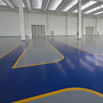 Anti-corrosion coating / indoor / floor / for concrete