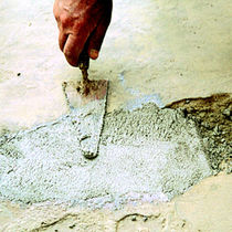 Non-shrink mortar / restoration / for concrete / epoxy
