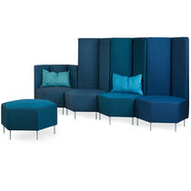Modular sofa / contemporary / fabric / 4-seater