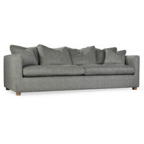 Contemporary sofa / fabric / 3-seater / with removable cover