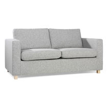 Sofa bed / contemporary / steel / fabric