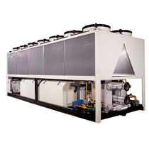 Water-cooled chiller / floor-mounted / free cooling