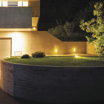 Recessed light fixture / LED / rectangular / outdoor