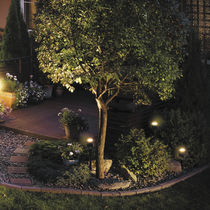 Floor spotlight / wall-mounted / outdoor / LED