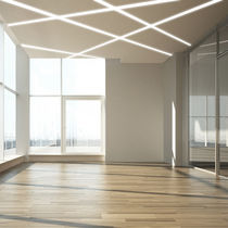 Built-in lighting profile / ceiling / LED / modular lighting system
