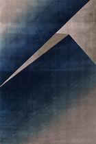 Contemporary rug / patterned / Tencel® / rectangular