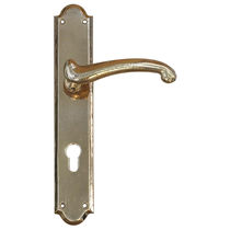 Door handle / metal / classic
