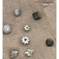Contemporary furniture knob / traditional / classic / metal