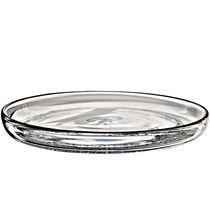 Round plate / glass