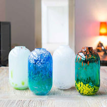 Contemporary vase / glass