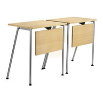 Classroom table / contemporary / metal / MDF